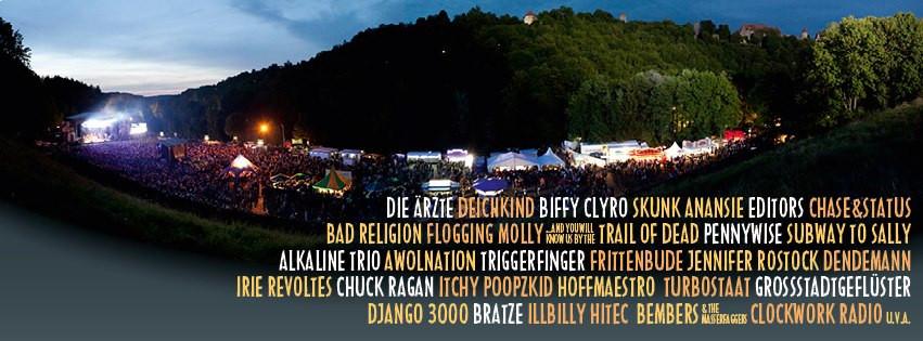 taubertal festival lineup 2013