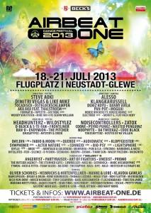 Airbeat One 2013 Plakat
