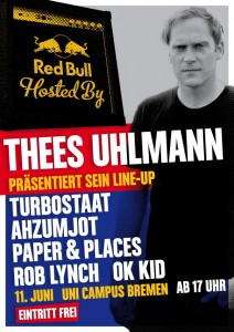 Red Bull Hosted By 2013_Poster_Bremen