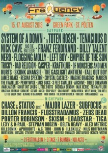 frequency festival lineup 2013
