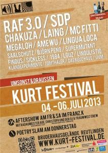 KuRT Festival 2013 - Plakat
