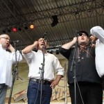 Quartett Tenore Gòine di Nuoro auf de 23. Tanz- und Folkfestival in Rudolstadt