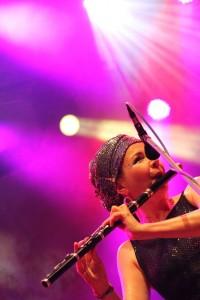 Nuala Kennedy auf dem 23. Tanz- und Folkfestival in Rudolstadt
