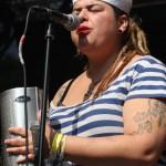 Las Kumbia Queers auf dem 23. Tanz- und Folkfestival in Rudolstadt