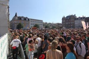 Bauchklang auf dem 23. Tanz- und Folkfestival in Rudolstadt