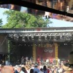 Bixiga 70 auf dem 23. Tanz- und Folkfestival in Rudolstadt