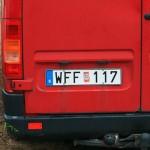 WFF Kennzeichen