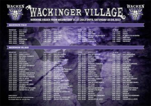 Wackinger-Village-Zeitplan-2013
