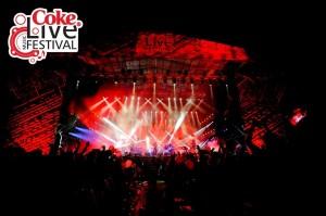 coke live music festival 2013