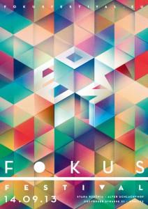 fokus Festival 2013 - Plakat