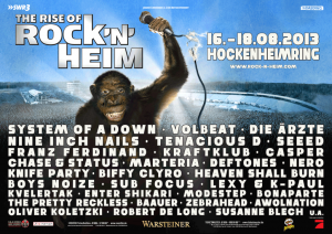 poster rocknheim 2013