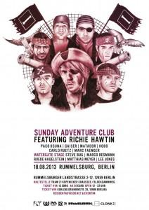 Sunday Adventure Club 2013_Flyer