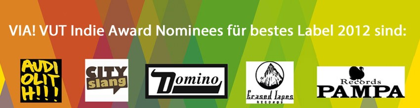VUT indie awards shortlist labels