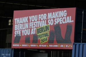 Berlin Festival 2013 - See you 2014