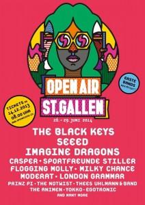 Openair-StGallen-2014-Plakat