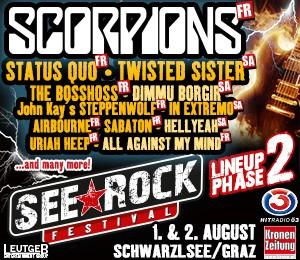 Seerock Festival 2014 - Scorpions