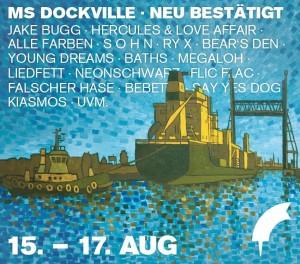dockville zweite bandwelle 2014
