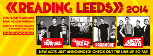 reading 2014 headliner