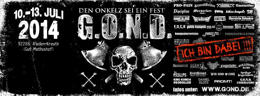 GOND Flyer 2014