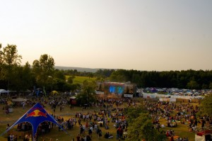 Happiness Festival Gelände