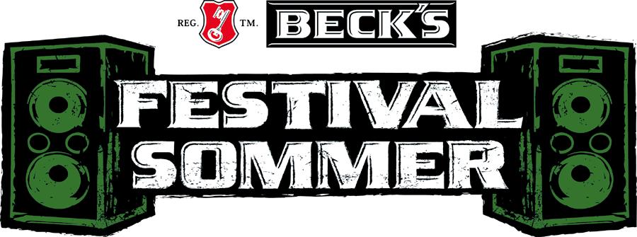 Becks Festival Sommer Logo