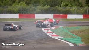 Rennen auf dem Nürburgring - Acceleration