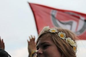 Blumenkranz + Antifa