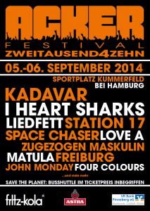 Flyer Ackerfestival 2014