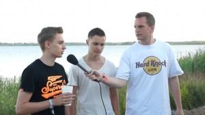 Medikamenten Manfred und Hustensaft Jüngling auf dem splash! Festival