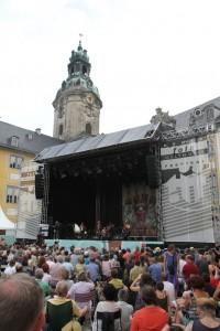 Eddi Reader auf dem TFF 2014 in Rudolstadt