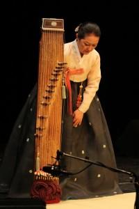Kim Hae-Sook auf dem TFF 2014 in Rudolstadt