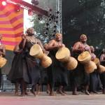 Ufunuo Muheme Group auf dem TFF 2014 in Rudolstadt