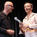 Rainald Grebe auf dem TFF 2014 in Rudolstadt
