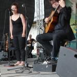 Kapelsky & Marina auf dem TFF 2014 in Rudolstadt