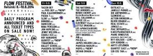 flow festival 2014 line-up