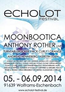 lineup echolot festival 2014