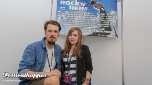 Alligatoah Interview bei Rock'n'Heim 2014