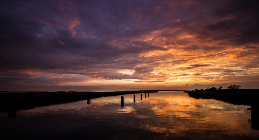 Sunset über der Ostsee