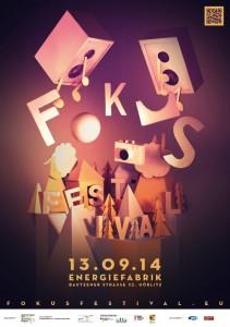 fokus Festival 2014 - Plakat