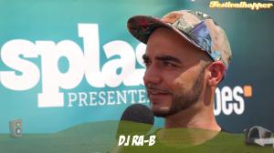DJ Ra-B beim splash! DJ Check