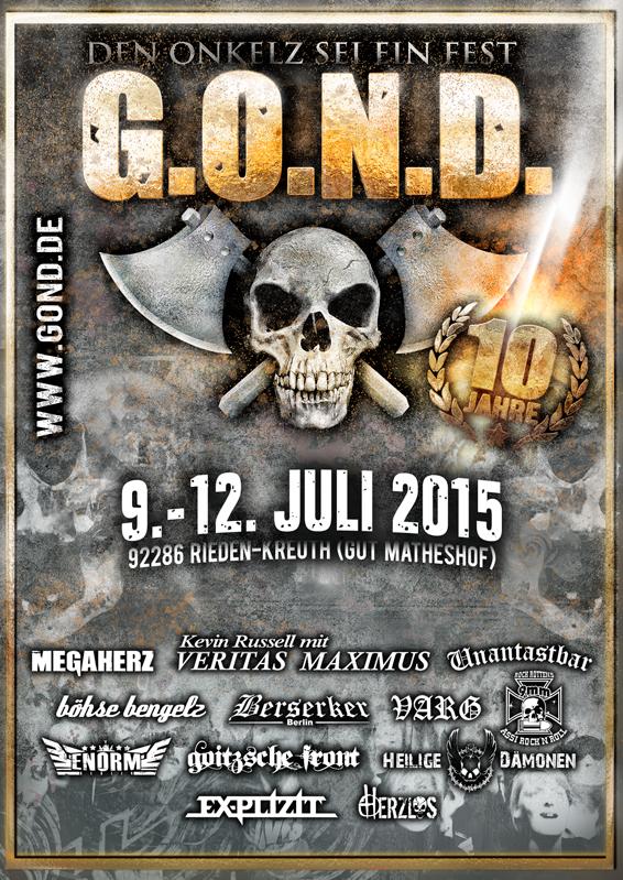 Gond2015 Plakat
