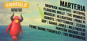highfield 2015 line-up dez