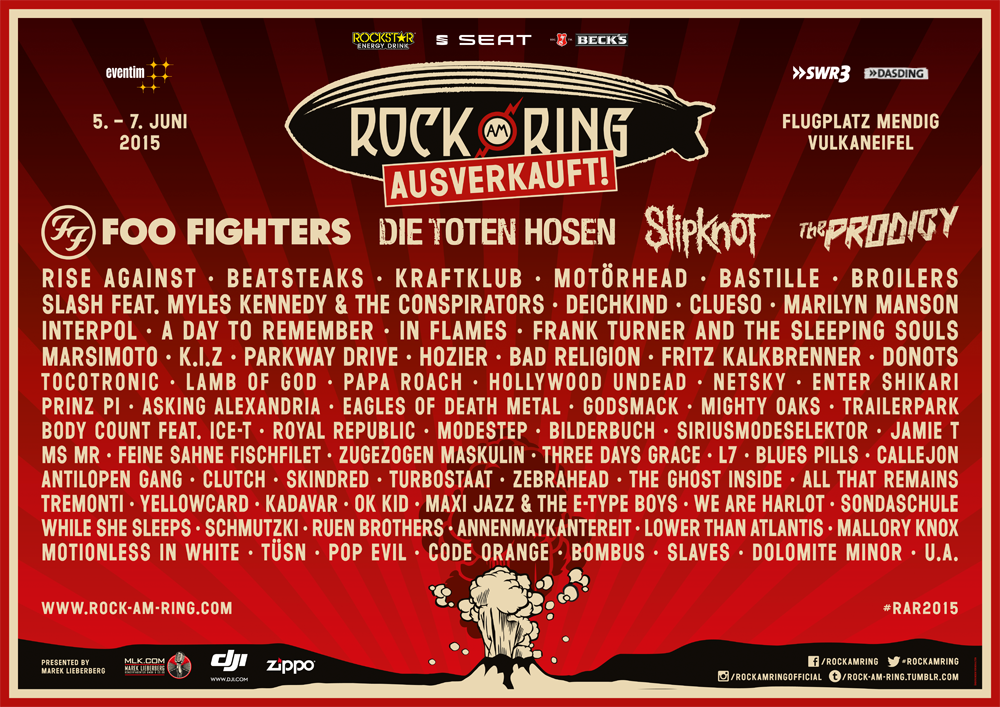 Rockstar Energy Drink Tickets Für Rock Im Park Und Rock Am Ring