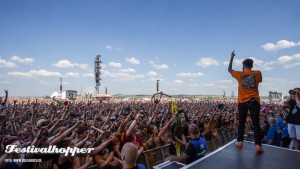A Day To Remember bei Rock am Ring 2015