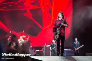 Foo Fighters bei Rock am Ring 2015
