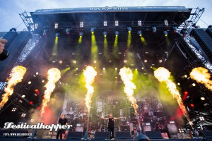 Parkway Drive bei Rock am Ring 2015