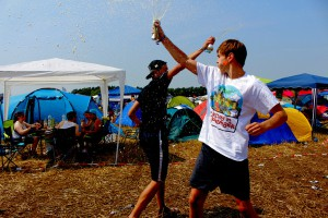 Campingplatz - Deichbrand 2015