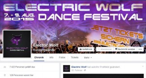 Electric-Wolf-Festival bei Facebook