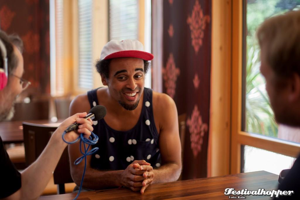 Patrice und der Geist von Bob Marley – Interview beim TFF Rudolstadt