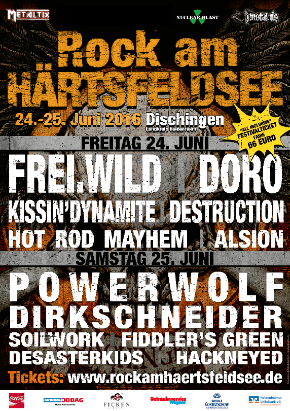 Rock am Härtsfeldsee 2016